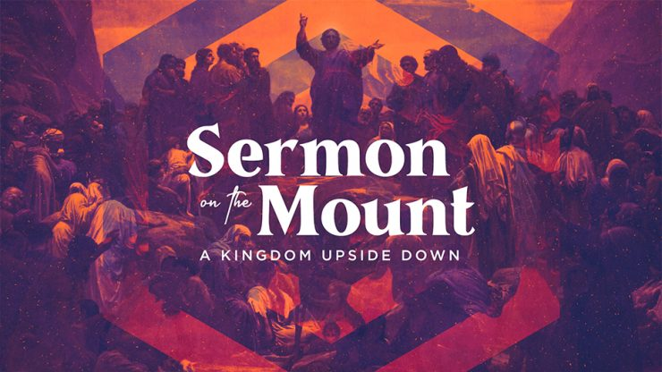 Sermon On the Mount Sermon Series Graphic