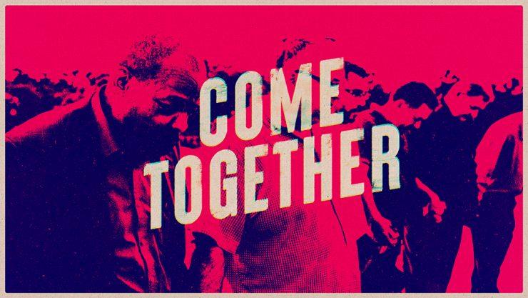 Come Together Church Unity Sermon Series Graphic