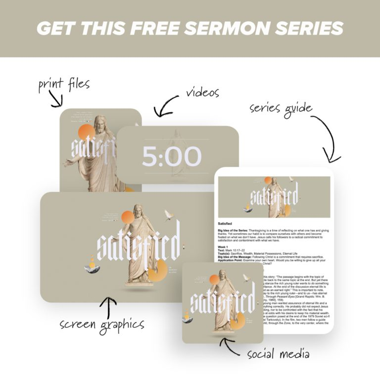 Satisfied - A free sermon series from Ministry Pass