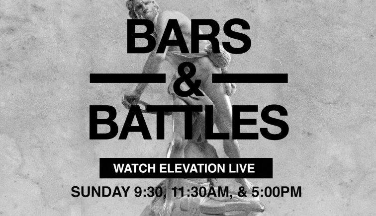 Bars & Battles Sermon Series Idea