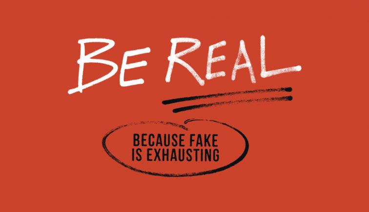 Be Real Because Fake is Exhausting Sermon Series Idea