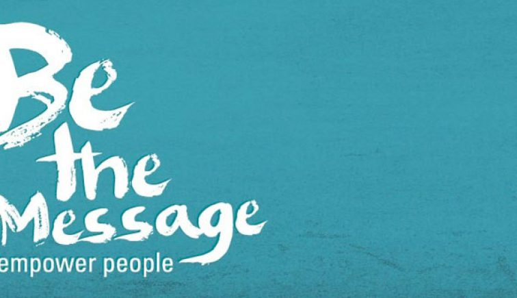 Be the Message Sermon Series Ide