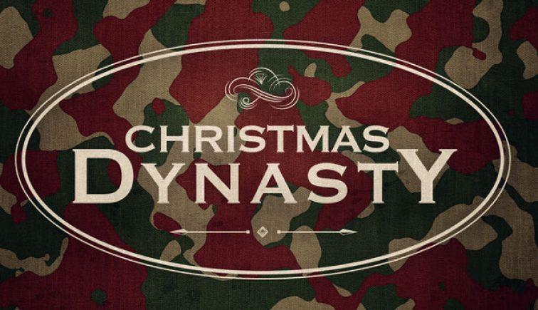 Christmas Dynasty Sermon Series Idea