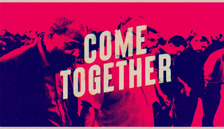 Come Together Church Unity Sermon Series Graphic