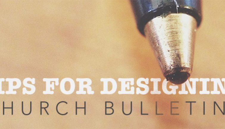 Designing-Church-Bulletins