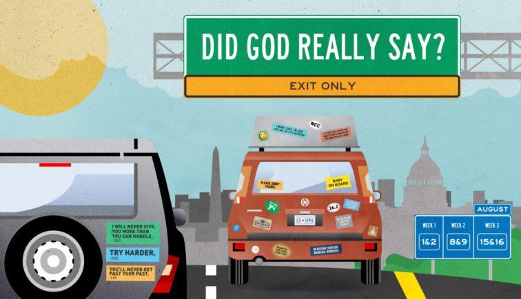Did God Really Say Sermon Series Idea
