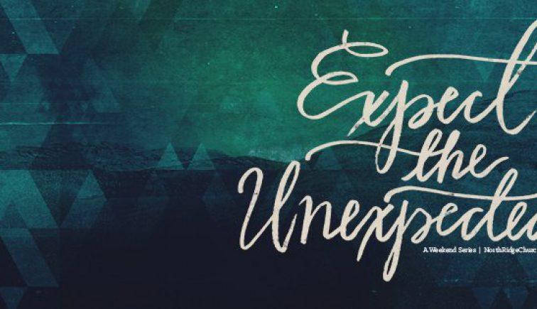 Expect the Unexpected Christmas Sermon Series IDea