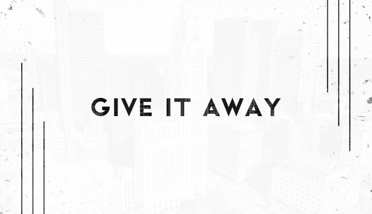 Give It Away Sermon Series Idea