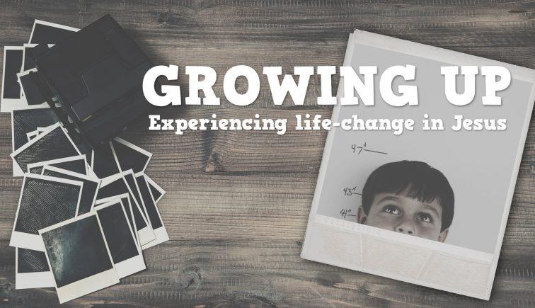Growing Up Sermon Series Idea