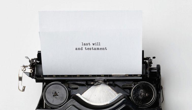 Last Will and Testament Sermon Series Idea