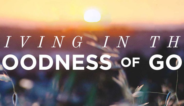 Living in the Goodness of God Sermon Series Idea