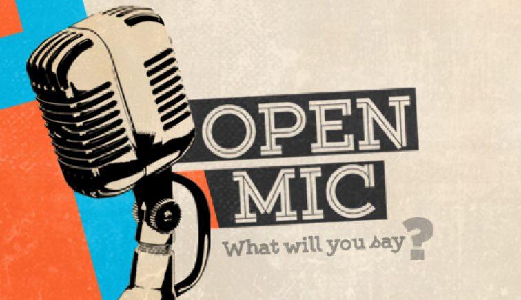 Open Mic Sermon Series Ideas