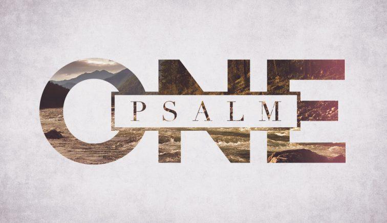 Psalm One Sermon Series Idea