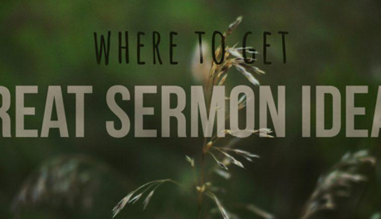 Sermon Ideas