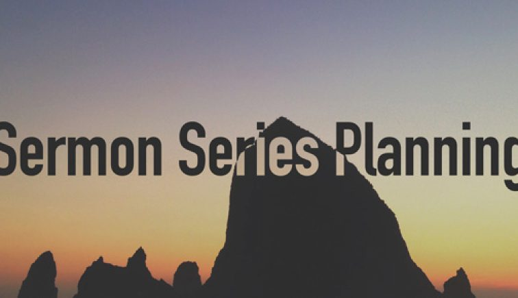 Sermon-Series-Planning
