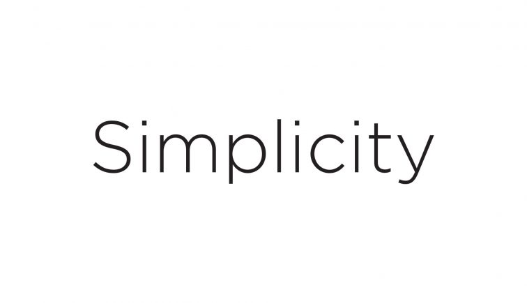 Simplicity Sermon Series IDea