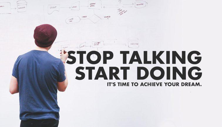 Stop Talking Start Doing Sermon Series Idea