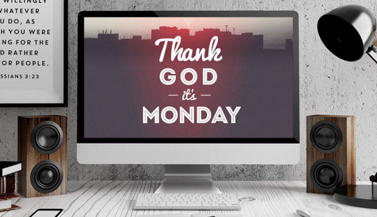 Thank God its Monday Sermon Series IDea