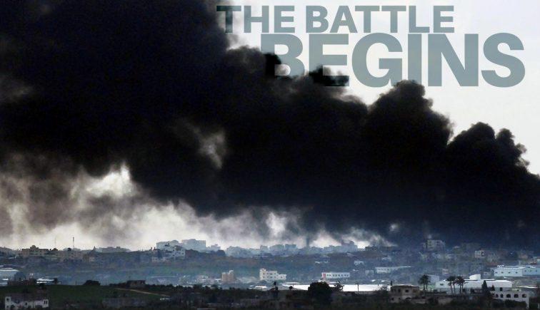 The Battle Begins Sermon Series Idea