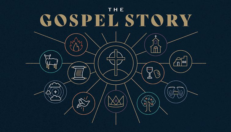 The Gospel Story Sermon Series Graphic