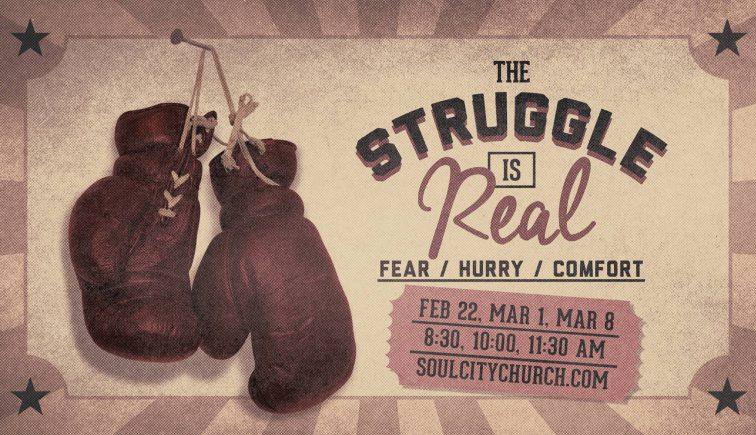 The Struggle is Real Sermon Series Idea