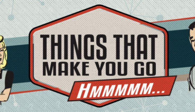 Things that Make You Go Hmmm Sermon Series Idea