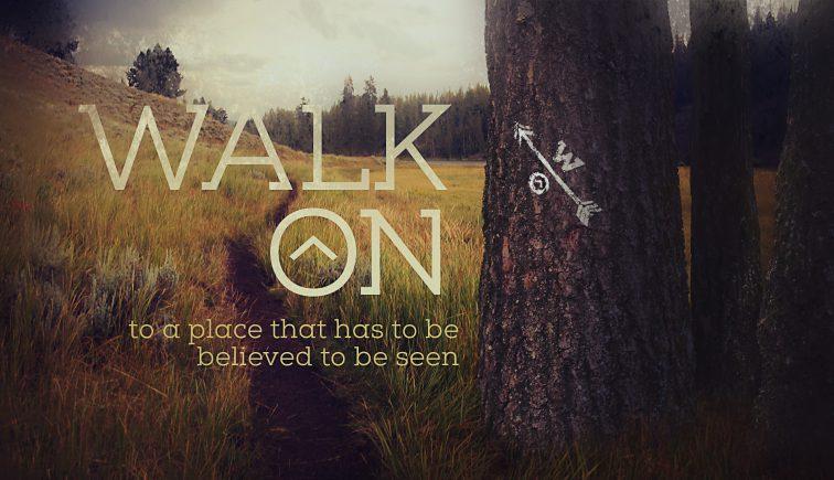 Walk On Sermon Series Idea
