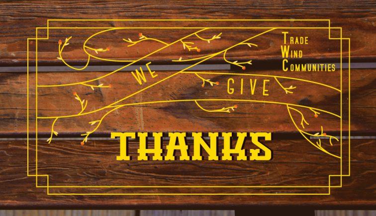 We Give Thanks Thanksgiving Sermon Series Idea