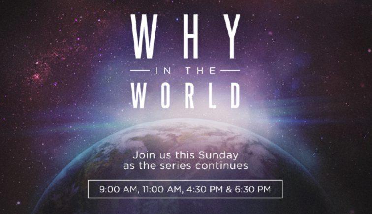 What in the World Sermon Series Idea