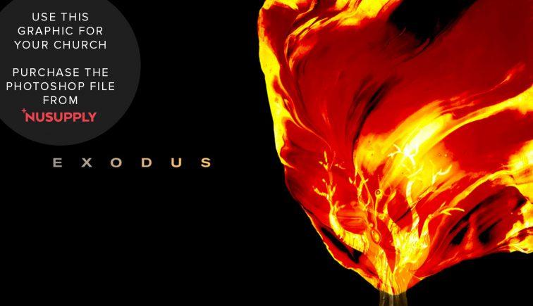 exodus burning bush sermon series idea